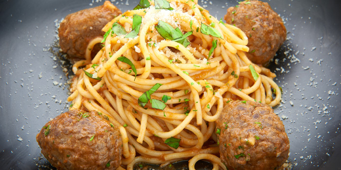 Spaghetti Meatball from D