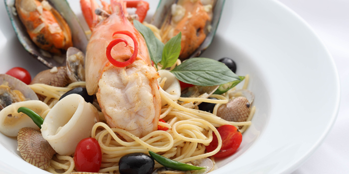 Spaghetti Seafood from The Ninth Cafe