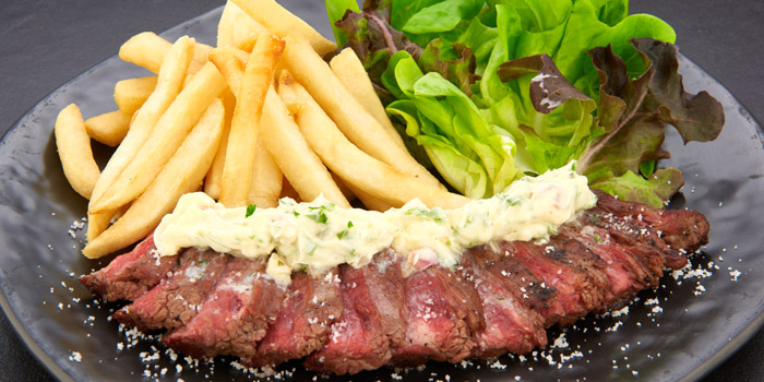 Beef Steak & Fries from D