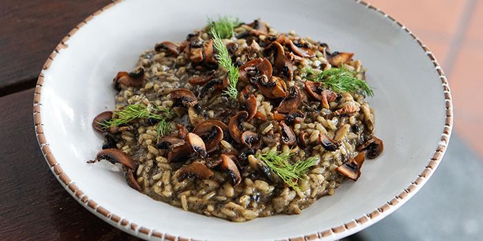 Truffle Mushroom Risotto from Sarnies Cafe at Telok Ayer in Raffles Place, Singapore