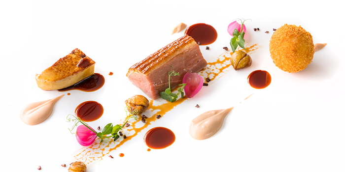 New Organic Duck Breast from il Cielo at Hilton Singapore in Orchard, Singapore