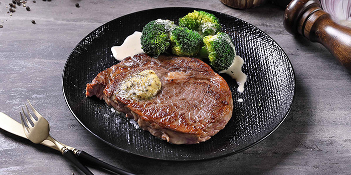 Angus Ribeye from The Communal Bistro Delicacy in Marina Bay, Singapore
