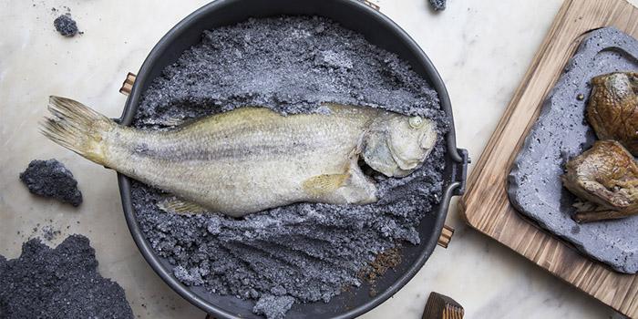 Ash Baked Whole Fish, The Pawn, Wan Chai, Hong Kong