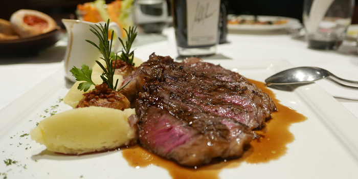Beef Steak from Beccofino Italian Restaurant at 90 Soi Thong Lor Khlonton Nua, Wattana Bangkok