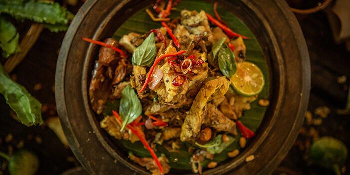 Food of Balique in Jimbaran, Bali