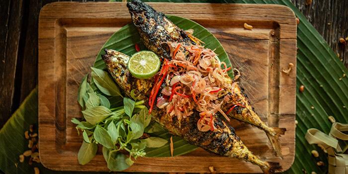 Food at Balique, Jimbaran, Bali