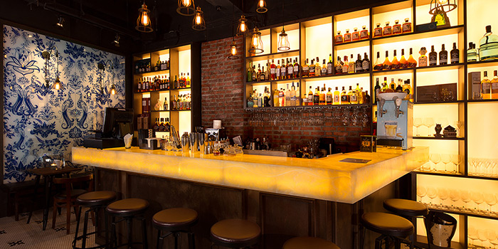Interior, WTF Bar, Causeway Bar, Hong Kong
