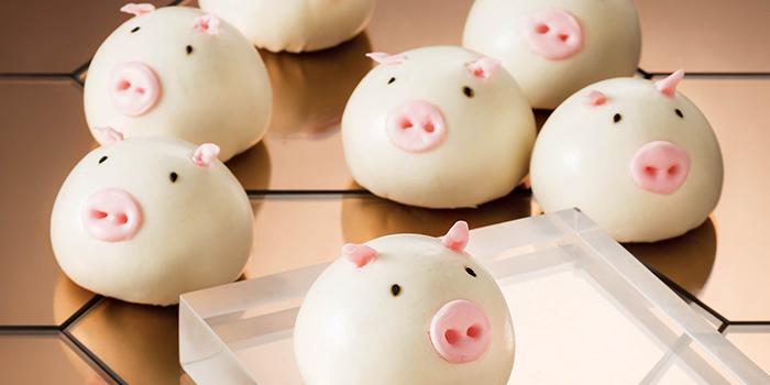 Bbq Piggy Buns, Yum Cha, Central, Hong Kong
