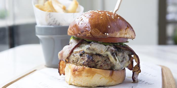 Beef Burger, The Pawn, Wan Chai, Hong Kong