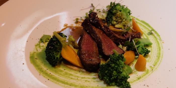 Beef Dishes from La Table De Tee Restaurant at 69/5 Soi Saladeang Silom Road Bangkok