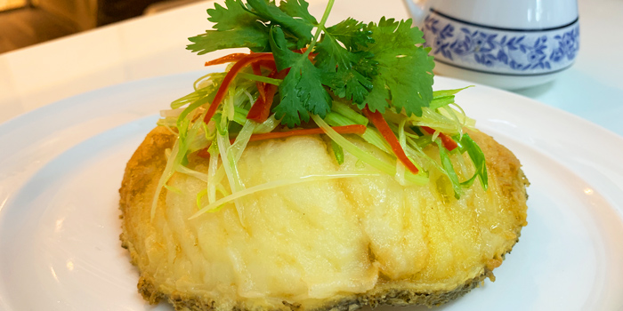 Black Cod Deep Fired in Soy Sauce from Ruenros The Market at The Market Bangkok Ratchadamri Rd Lumphini, Khet Pathum Wan Bangkok