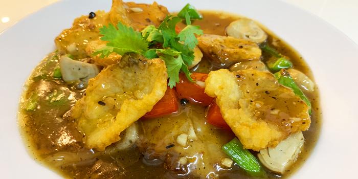 Black Cod Deep Fired with Sweet and Sour Sauce from Ruenros Rama3 at Bangkok Square Rama3 Bang Phong Phang, Yan Nawa Bangkok