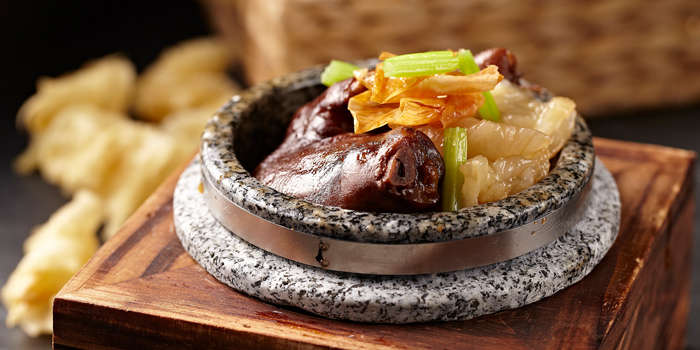 Braised Pork Trotter and Fish Maw in Stone Bowl, Tian Tian Hainanese Chicken Rice (Causeway Bay), Causeway Bay, Hong Kong
