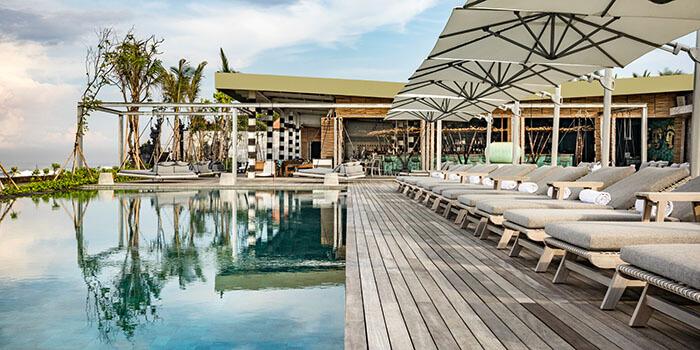 Pool at COMO Beach Club, Canggu