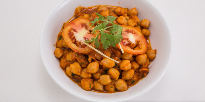 Chana Masala from Indian Hut at 414-420 Suriwongse Road Bang Rak Bangkok