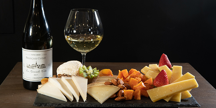 Cheese Platter, Le Quinze Vins, Central, Hong Kong