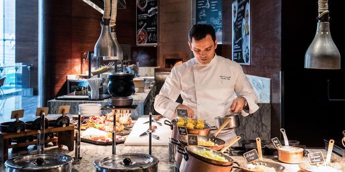Chef Marco Cammarata from Latest Recipe at Le Méridien Bangkok 40/5 Surawong Road, Bangrak Bangkok