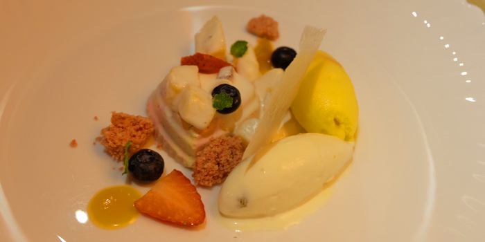 Desert Dishes from La Table De Tee Restaurant at 69/5 Soi Saladeang Silom Road Bangkok