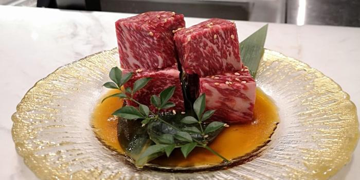 Diced Wagyu Beef, Nice Yakiniku & Fine Wine, Causeway Bay, Hong Kong