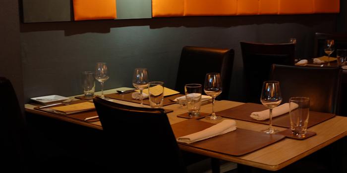 Dining Area of La Table De Tee Restaurant at 69/5 Soi Saladeang Silom Road Bangkok