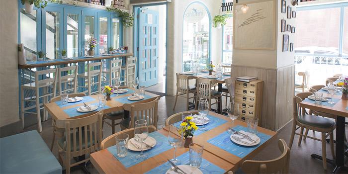 Dining Area, Santorini Greek Restaurant (SoHo), SoHo, Hong Kong