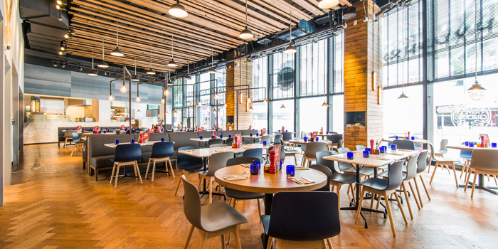 Dining Area, PizzaExpress Kornhill Plaza, Quarry Bay, Hong Kong