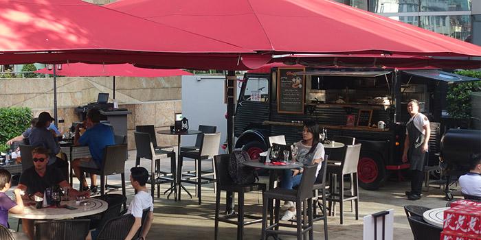 Dining Area, The Garage Bar, Mong Kok, Hong Kong