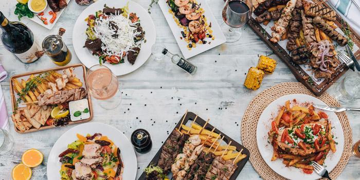 Eat like a Greek, Santorini Greek Restaurants (Wan Chai), Wan Chai, Hong Kong