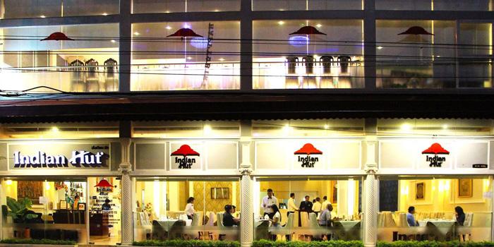 Entrance of Indian Hut at 414-420 Suriwongse Road Bang Rak Bangkok
