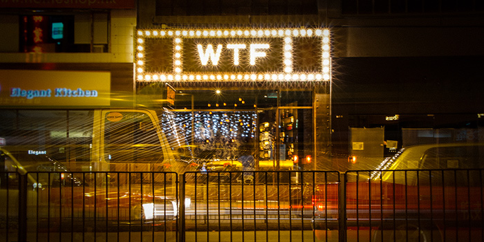 Exterior, WTF Bar, Causeway Bar, Hong Kong
