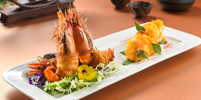 Stir Fried Prawns from Feng Shui Inn at Resorts World Sentosa in Sentosa, Singapore