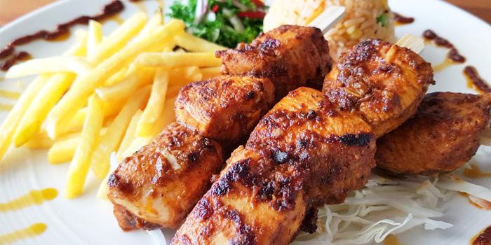 Food from The Deck Restaurant Kamala in Kamala, Phuket, Thailand