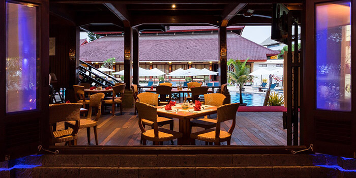 Interior from Samudera Restaurant, Kuta, Bali