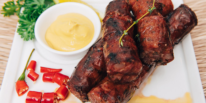 Greek Loukaniko Sausage, Santorini Greek Restaurant (SoHo), SoHo, Hong Kong
