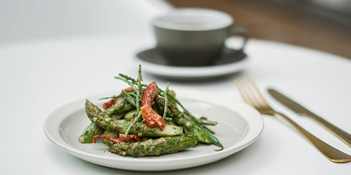 Green Asparagus, Next Door Cafe & Bar, Causeway Bay, Hong Kong