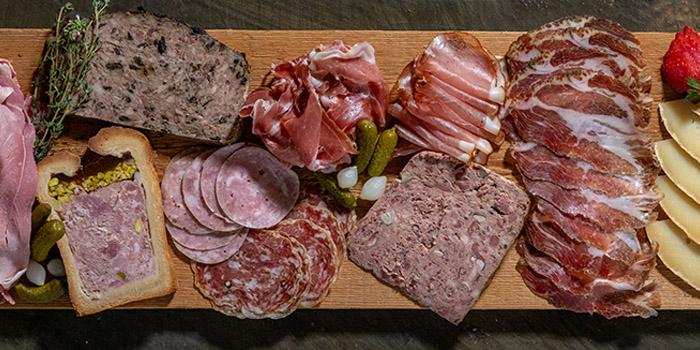 Ham Platter, Le Quinze Vins, Central, Hong Kong