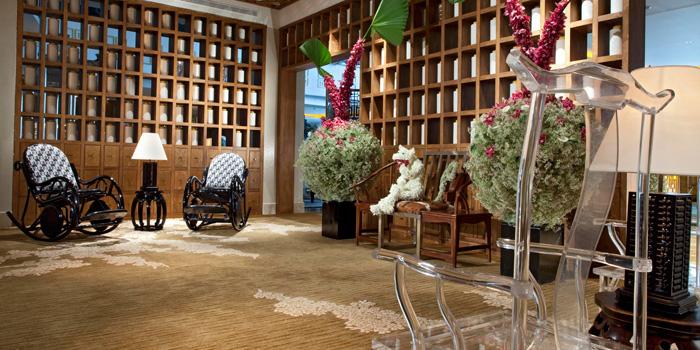 Interior 2 at Table8, Hotel Mulia Jakarta
