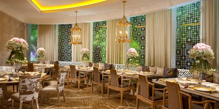 Interior 3 at Table8, Hotel Mulia Jakarta