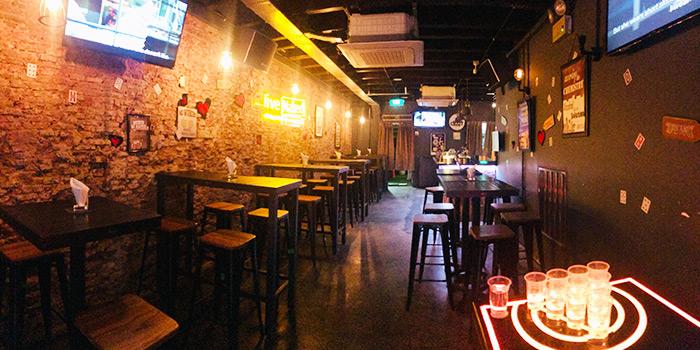 Dining Area of Bait in Bugis, Singapore