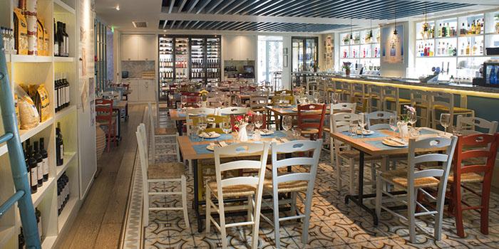 Interior, Santorini Greek Restaurants (Wan Chai), Wan Chai, Hong Kong