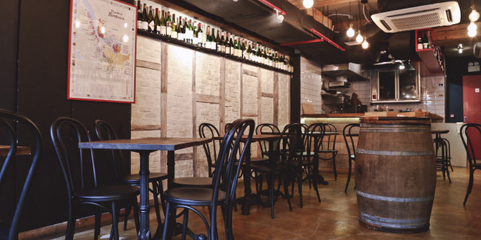 Interior, Le Quinze Vins, Central, Hong Kong