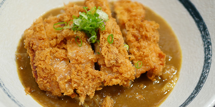 Katsu Curry from Inaniwa Yosuke in Wisma Atria Shopping Centre in Orchard Road, Singapore