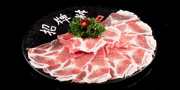 Kurobuta Pork Slices, The Drunken Pot, Causeway Bay, Hong Kong