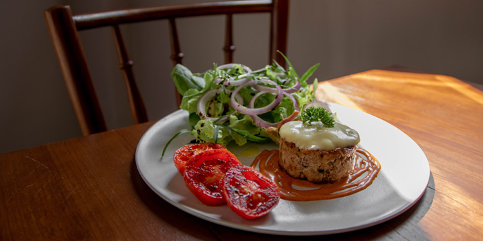 Lean Burger from Healthy Tasty Club at 38 Soi Silom3(pipat) Silom, Bangrak Bangkok