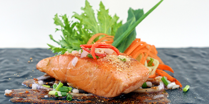Laab-Salmon from Secret Sunset in Karon, Phuket, Thailan