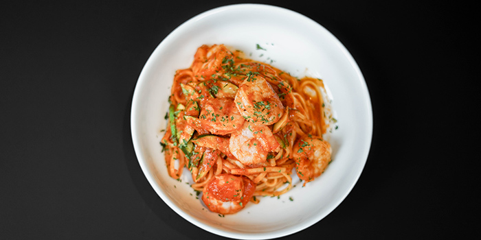 Linguine Arrabbiata, Next Door Cafe & Bar, Causeway Bay, Hong Kong