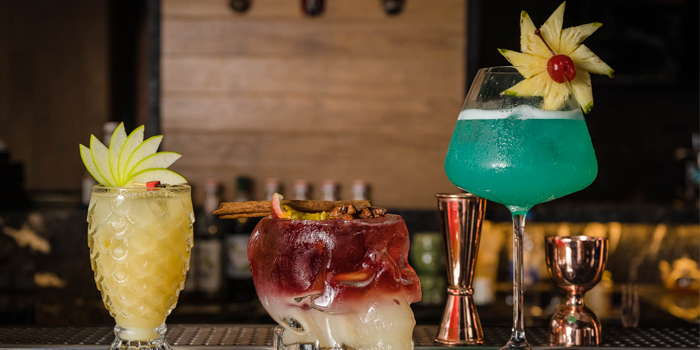 Mocktails from Pots Pints & Tikis in Patong, Phuket, Thailand
