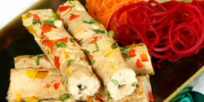 Murg Seekh Kebab from Indian Hut at 414-420 Suriwongse Road Bang Rak Bangkok