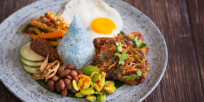 Nasi Lemak from Native Kitchen at à Village Hotel at Sentosa in Sentosa, Singapore