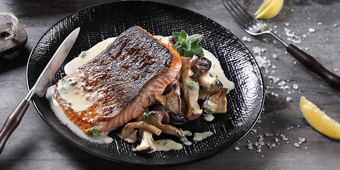 Norwegian Salmon from The Communal Bistro Delicacy in Marina Bay, Singapore